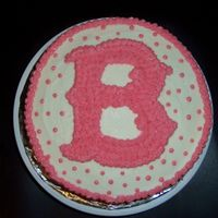 Red Sox Birthday My sister-in-law is a die-hard Red Sox Fan, so I did this cake for her 25th birthday in her favorite color - PINK!