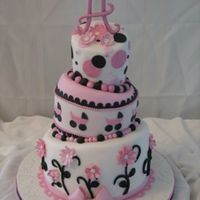 Whimsy Stroller One of my fav. cakes recently!! They wanted a baby shower cake, but didn't want it to be too 'babyish'!??! Her theme is pink...