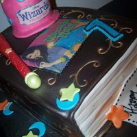 Wizards Of The Waverly Place Spell Book