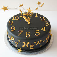 Happy New Year   This is the New Year cake that I made for the Dutch Magazin MjamTaart!