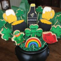 St. Paddy's Day Cookie bouquet made for a silent auction fundraising event in my school district held this evening. I'm waiting to hear how my bouquet...