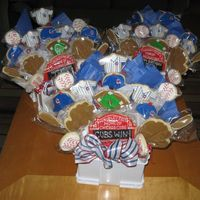 Go Cubs Go! NFSC and Antonia's RI. Made for a Cubs themed birthday party--last Saturday of course when they clenched the central division! Wooo...