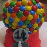 "Gumball Machine This was created for and entered in the Everyday with Rachael Ray Cutest Cupcake Contest. They picked mine as their ""Fav."" I was..."