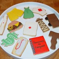 2008 Oscar Cookies Cookies I did for each of the Best Picture nominees for Oscar party