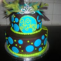 Sb_005.jpg This was for 2 people and they wanted to have a cake double sided on with stripes the other with polka dots, its one of my fav.
