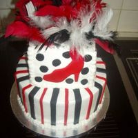 Cke_005.jpg This was for a older lady (in her 70's) she's quite the diva so i came up with black and red and had purse,shoe,hat,and sunglass...