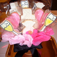 Bridal Shower Cookie Bouquet