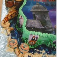Another Pic Of Pr Cake Here is a close up of the instruments made of fondant.