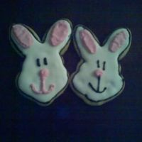 Easter Bunnies Two of the Easter bunnies I made this weekend - NFSC with RI