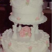 1 St Wedding Cake