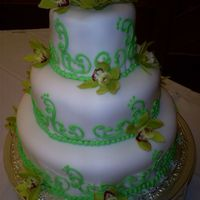 Green Orchid Wedding Cake hope you all like