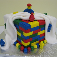 Lego-Like Cake We did this cake with Lego-like ice molds. Great fun. Got idea from CC.