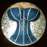 Dallas Cowboy Fan's Dream Woman Yet another one of my corsette cakes, but this time the customer wanted it for her bf, who is a huge Dallas Cowboy Fan. So she wanted their...