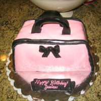 My First Purse Cake - In Pink!