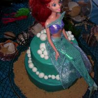 Under The Sea This cake was for a little girl's Under the Sea birthday party - white cake w/bavarian creme filling, cream cheese icing, fondant...