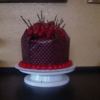 Chocolate Cake For Auction