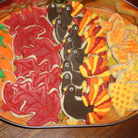 Thanksgiving Cookies no fail sugar cookeis with royal icing