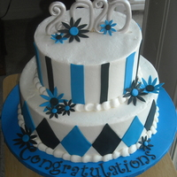 Marissa's Graduation done for my cousin's high school graduation. Inspired by another grad cake that reminded me of sugarshack's cake from her topsy...