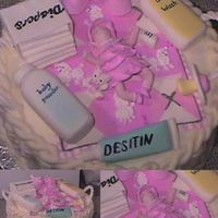 Baby Shower mmf baby, handles and baby stuff. french vanilla cake and buttercream.
