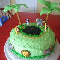 Jungle Cake Based on the picture in Wilton 2007 yearbook.