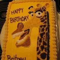 Melman2.jpg For a friend's 6 year old daughter.