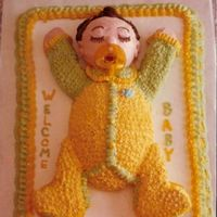 Sweet Surrender I made this cake in 1981, but think it is still fun! 11x15 sheet, body is 1/2 egg pan, head is petite doll pan, arms/legs are cut from bell...