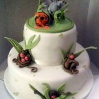Jungle Cake Two tier Jungle cake