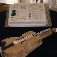 Violin And Music Book