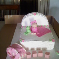 Babyshower Ca I made this cake for a friend's niece,