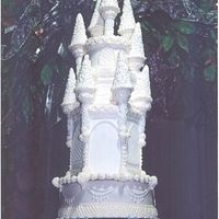 Castle Topper Here is a close up of the top from my previous post. The cake design was taken from a Wilton picture.