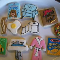 Thank You Thank you cookies for friends who welcomed my daughter into their home while our home was under construction after a huge water leak!Thanks...