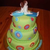 Chris & Mary's Shower Cake