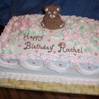 1St Birthday Cake This was a cake I made yesterday for a 1st Birthday.