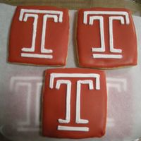 "Temple ""t"" Cookies"