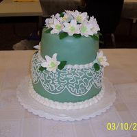 Competition Cake This was for a local competition where we had 45 minutes to decorate a fondant covered cake. The hard part was doing it while lots of...