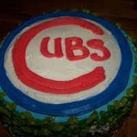 Cubs Cake  GO CUBBIES!! Complete with ivy. ;-)This was a rather quick job but it got the idea across. (I was on a major time constraint) The next one...