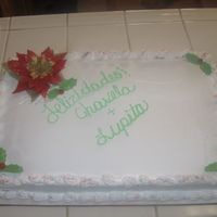 Birthday/x-Mas Cake