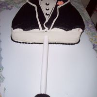 Umbrella This is the other his and her cake I did for the coed wedding shower.