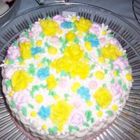 The Top This is the top of the basket weave cake.
