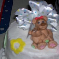 Baby Bear Cake I looked to aine 2 for the insperation for this cake. It definitly isn't as good as hers but I liked and everyone else did also. Sorry...