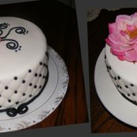 The Difference Of The Finishing Touch..... I did this cake for a bridal shower.....when I got it done and really looked at it, the paper on the bottom was ALL WRONG. Couldn't...