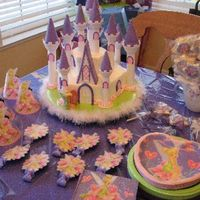 Birthday Tinkerbelle Castle