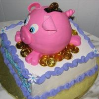 Piggy Bank I copied this one from a wonderful decorator on this site.