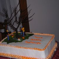 Father In Law's 65Th B-Day  My father in law and my husband have a tree trimming business and I was asked to make this cake for my father in law's 65th b-day. The...