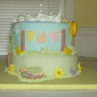 Amy's Baby Shower Cake