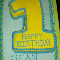 Sean's First Birthday