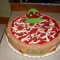 Teenage Mutant Ninja Turtles Cake I made this on the weekend. I thankfully got some inspiration from cakes I seen on here. I'm happy with it. Best Ever Chocolate Cake...
