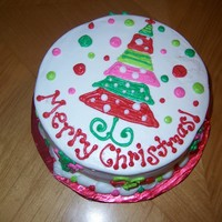 Mod Merry Christmas! Just a fun Christmas Tree Cake!