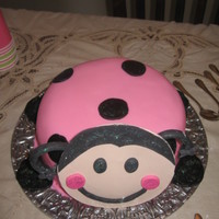 Ladybug Cake I made this for my daughter 2nd b-day, she loved it!!!