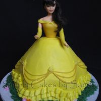 Belle BC with fondant accents
